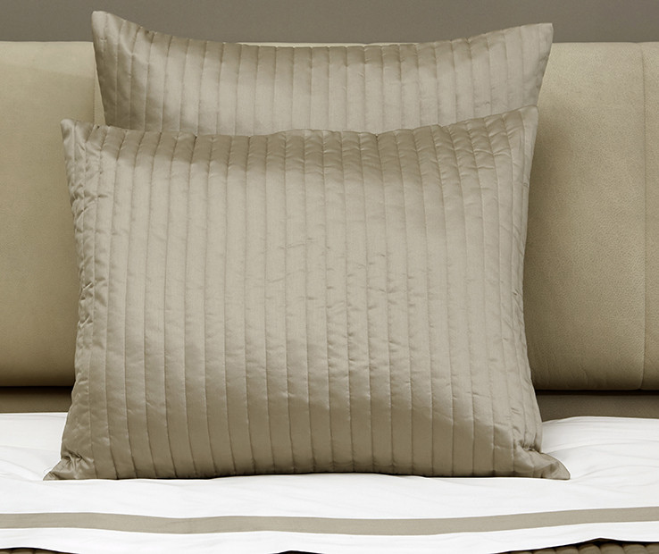 Siena quilted decorative pillow sham