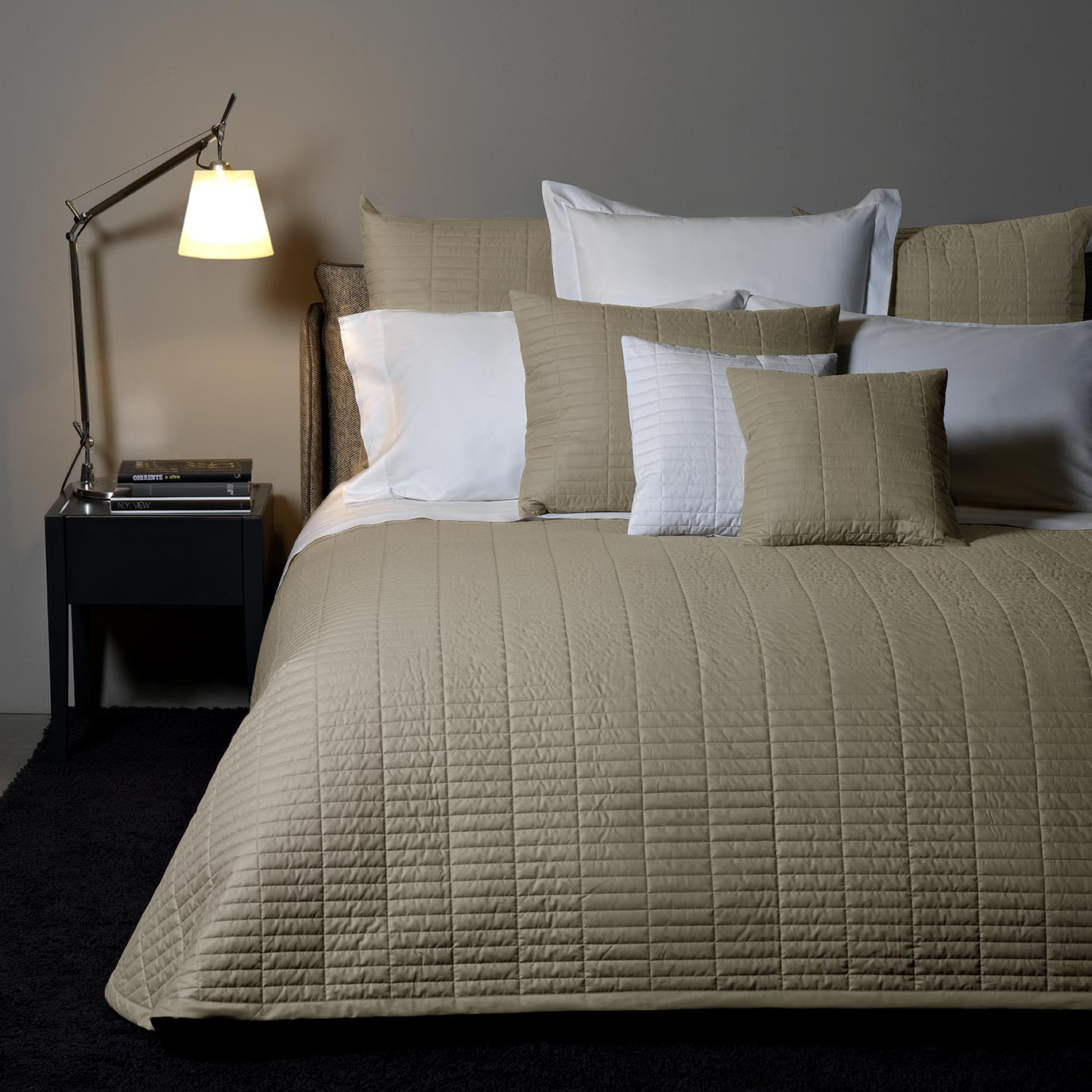 Spoleto Quilted Coverlet