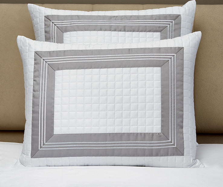 Cascina quilted decorative pillow sham