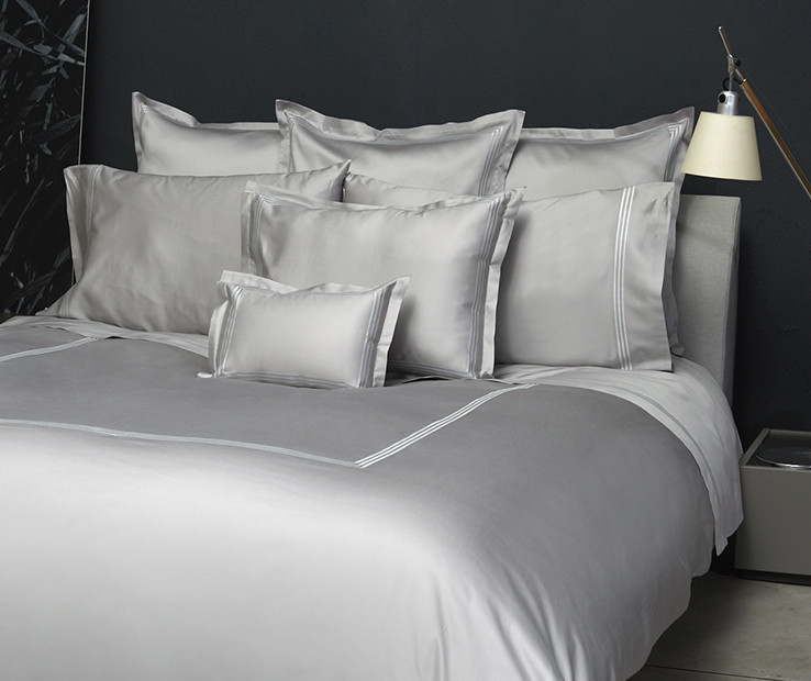 Platinum Sateen duvet cover