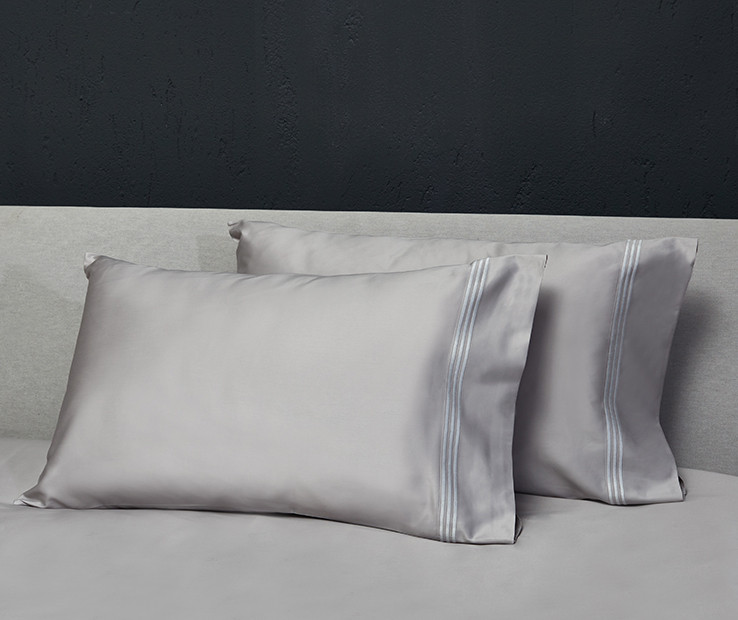 Platinum Sateen pillowcases