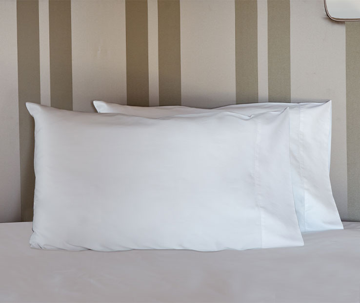 Nuvola Percale pillowcases