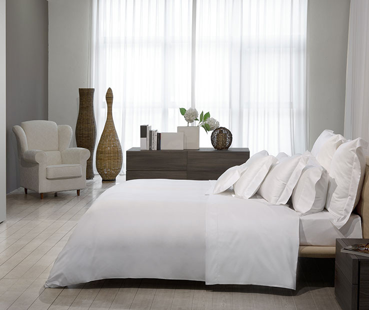 Nuvola Percale Flat Sheet