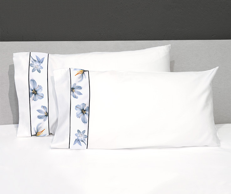 Zafferano Border pillowcases